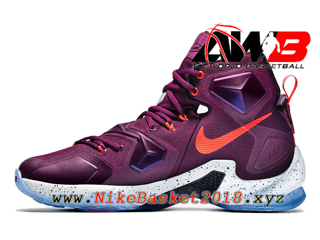 ... Chaussures Nike Prix Pas Cher Pour Homme Nike Lebron 13 Written In The  Stars Violet Blanc ... c69946e0e992