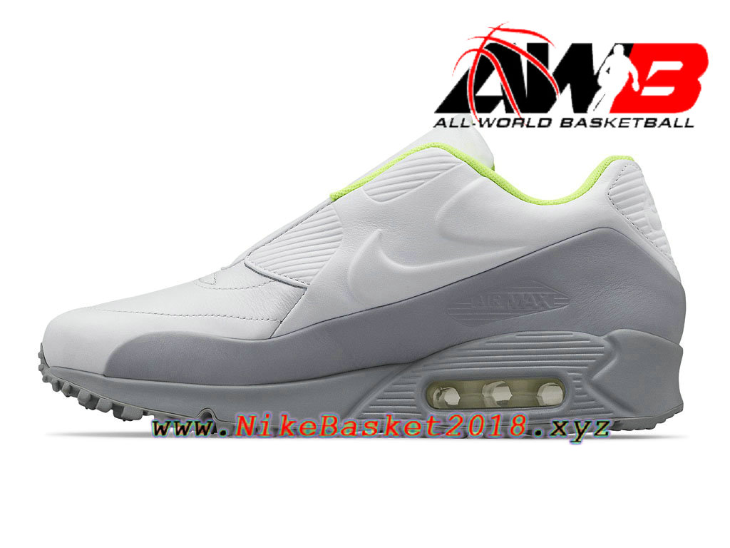 air max grise blanche homme