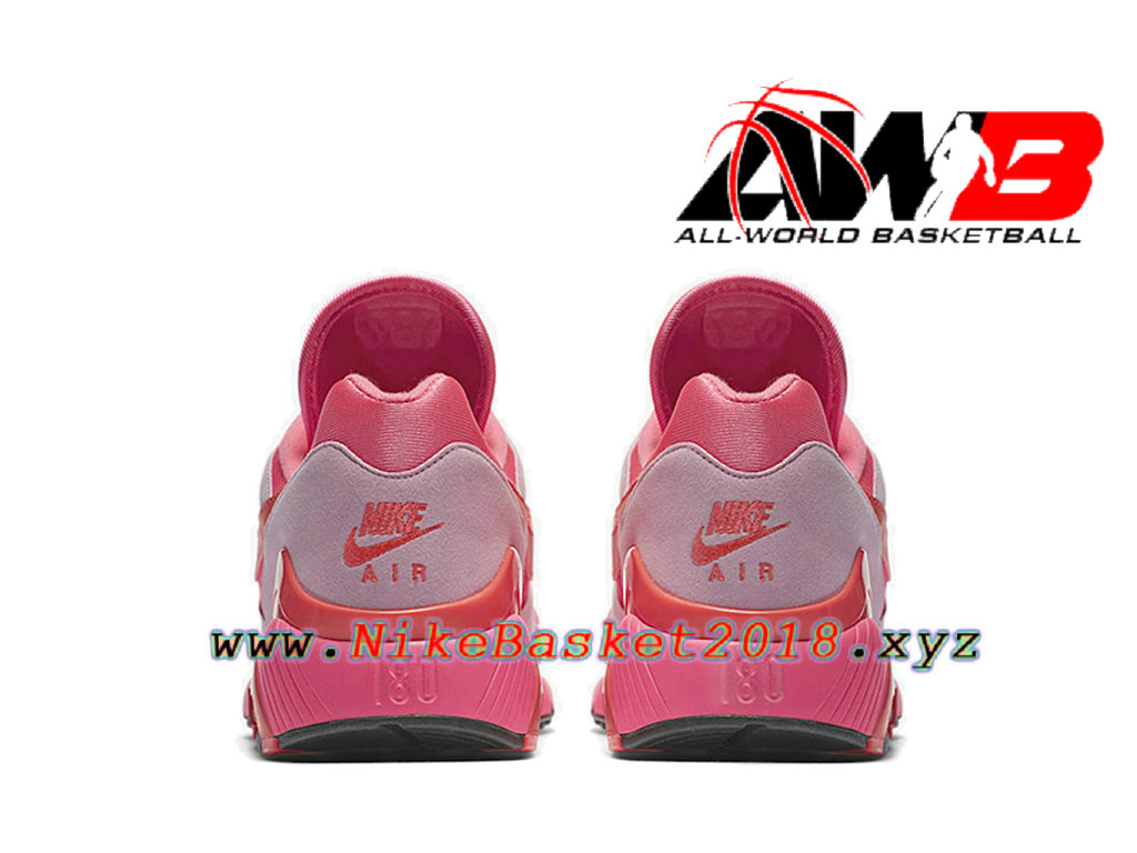 ... Chaussures Nike Running Pas Cher Pour Homme Nike Air Max 180 CDG Rose  Blanc AO4641- 5c9f20ac31cc