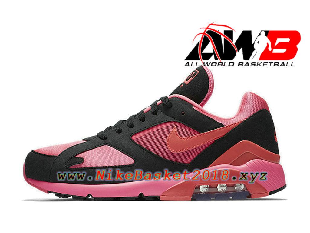 air max rose et noir pas cher
