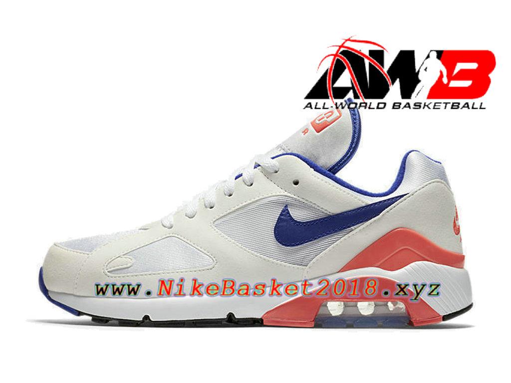 size 40 508cd 22832 ... Chaussures Nike Running Pas Cher Pour Homme Nike Air Max 180  Ultramarine Blanc Bleu 615287- ...