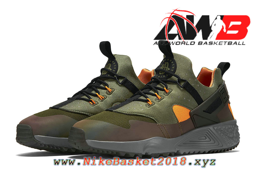 newest collection b3371 44c48 ... order chaussures nike sportswear pas cher pour homme nike air huarache  utility prm carbon green black