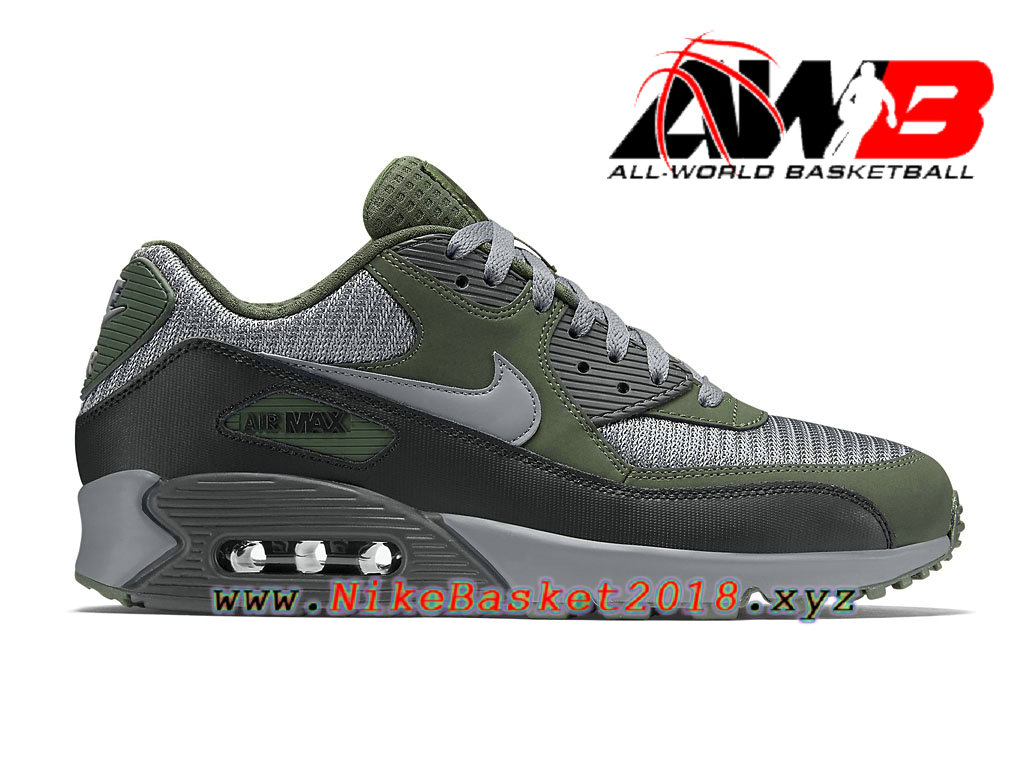 Chaussures Nike Air Max 90 Essential Nike Homme, Nike grise