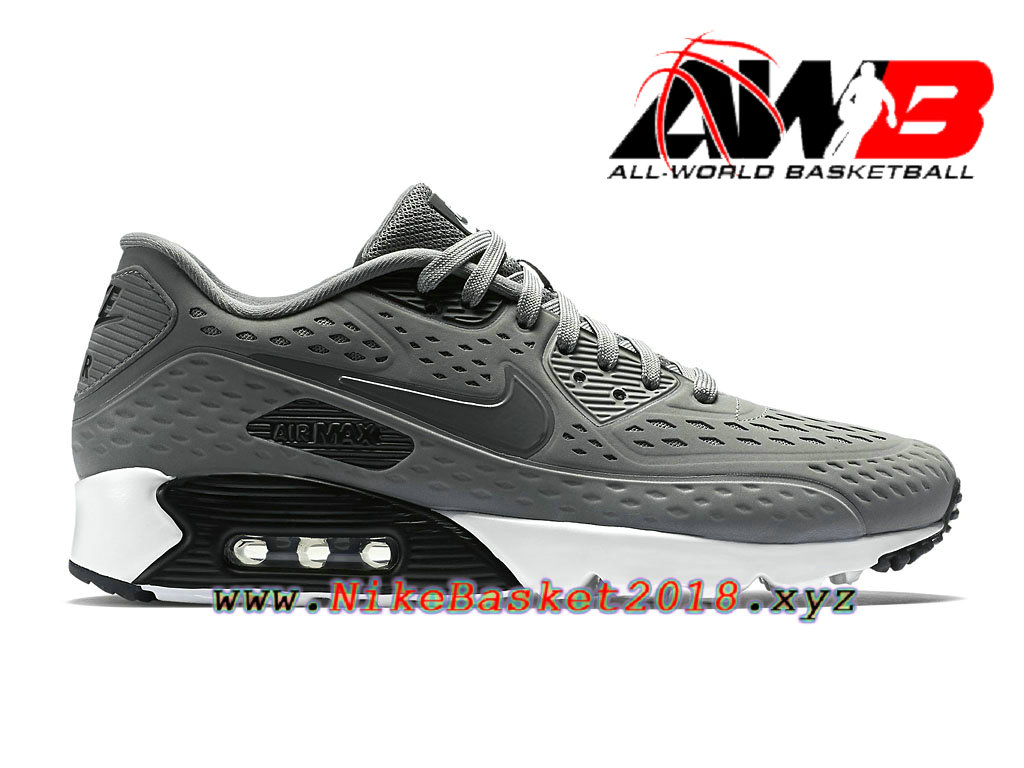 Haut Sneakers Hommes, Nike Air Max 90 Ultra Br(Gris