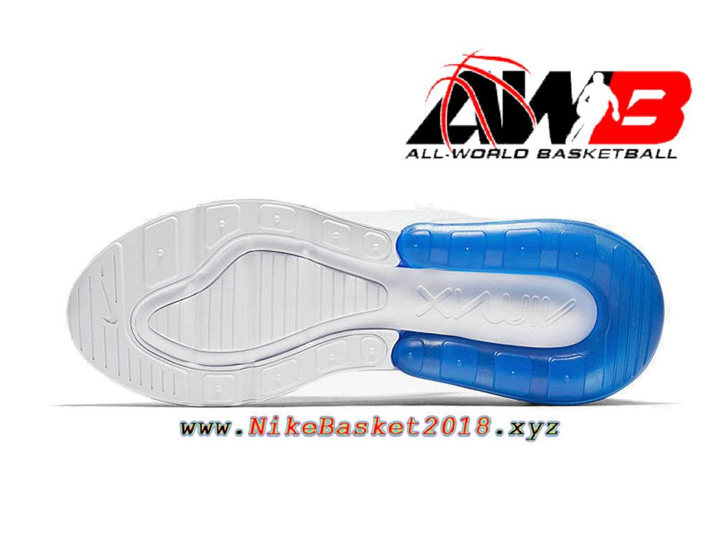 Chaussures Officiel 2018 Pas Cher Pour Homme Nike Air Max 270 Blanc Bleu AH8050 105 1803271024 Nike Site Officiel | Boutique de Chaussures de
