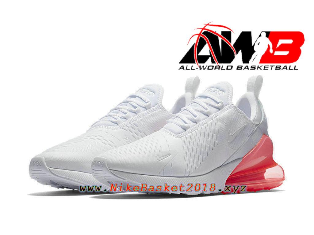 nike air max 270 blanche et rose