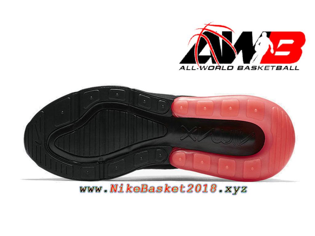 Chaussures Officiel 2018 Pas Cher Pour Homme Nike Air Max 270 Noir Rose AH8050 010 1803271020 Nike Site Officiel   Boutique de Chaussures de
