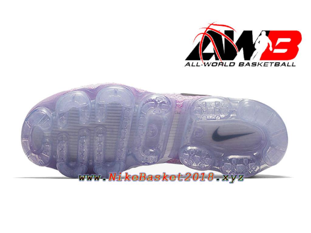 229dfafa1e7 ... Chaussures Officiel 2018 Pas Cher Pour Homme Nike Air VaporMax Flyknit  2.0 Rose Blanc 942842- ...