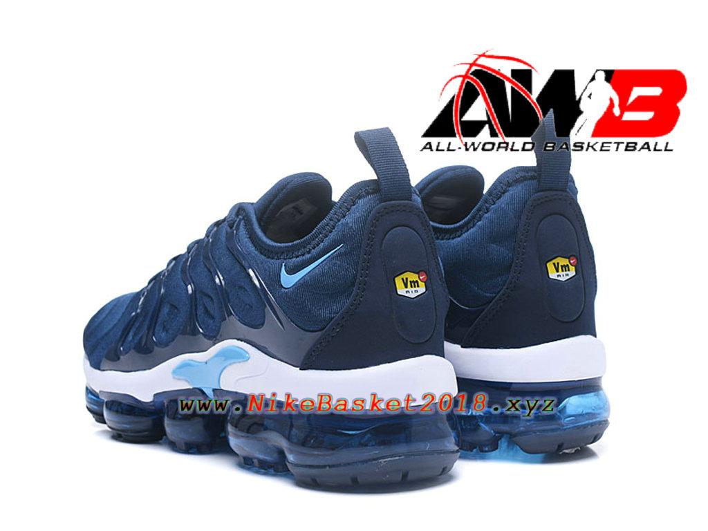 low cost 64111 b64b4 ... france chaussures officiel 2018 pas cher pour homme nike air vapormax  plus bleu blanc 924453 id10 ...