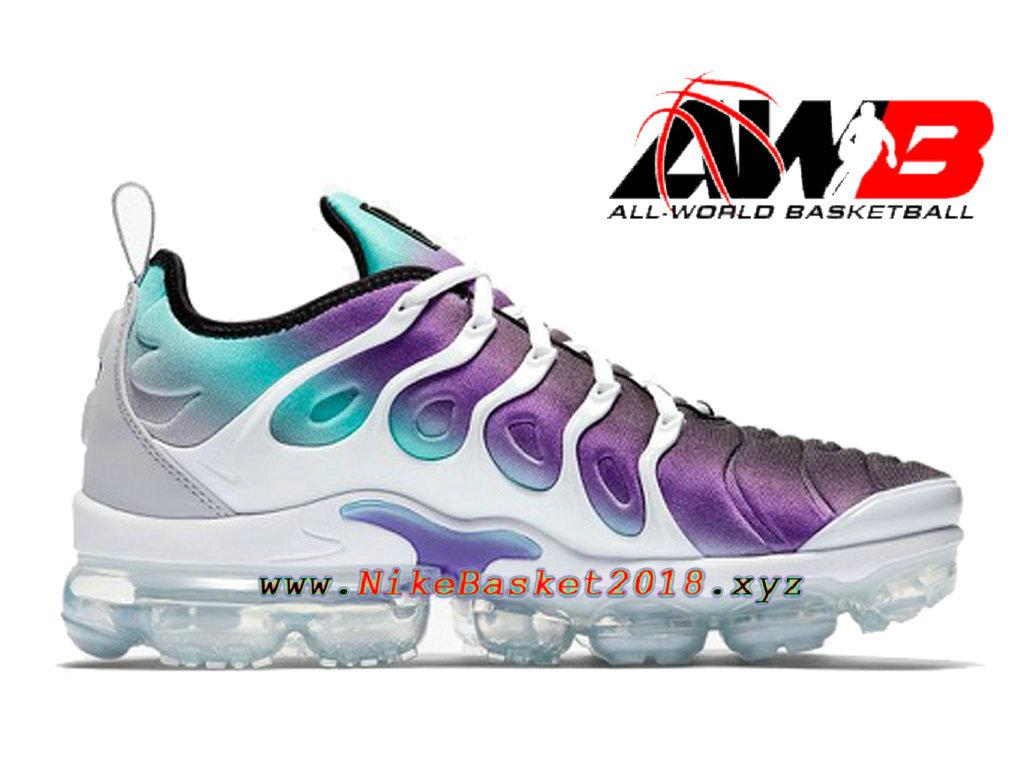 reputable site d818c 3a792 ... cheap chaussures officiel 2018 pas cher pour homme nike air vapormax  plus violet blanc 924453 101 ...