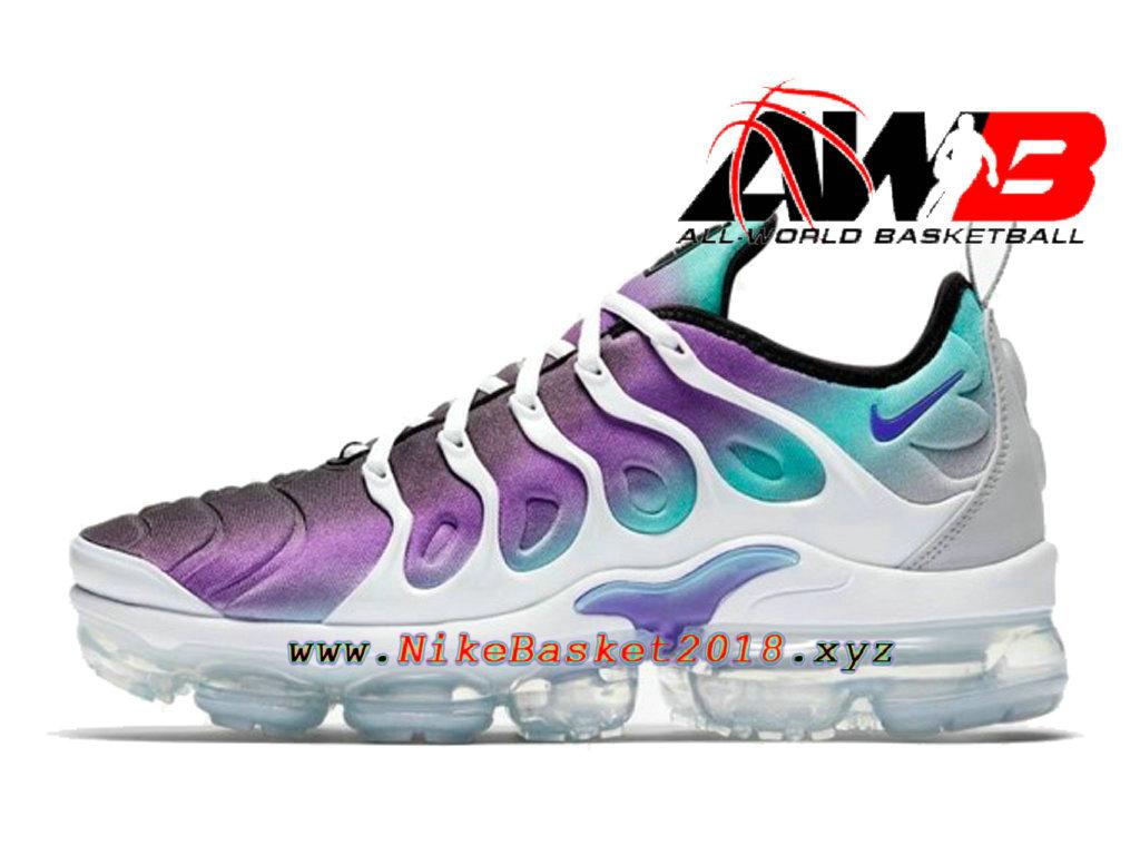 Chaussures Officiel 2018 Pas Cher Pour Homme Nike Air VaporMax Plus Violet Blanc 924453 101 1803311030 Nike Site Officiel | Boutique de Chaussures de