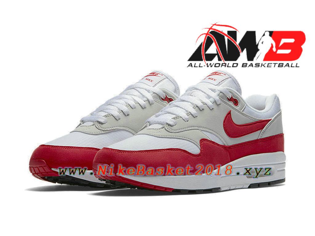 air max 1 blanche et rouge