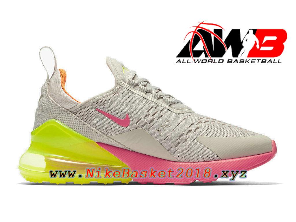 on sale ac3bb 6c3f6 ... sweden chaussures officiel prix pas cher pour homme nike air max 270  neon pink orange ah6789