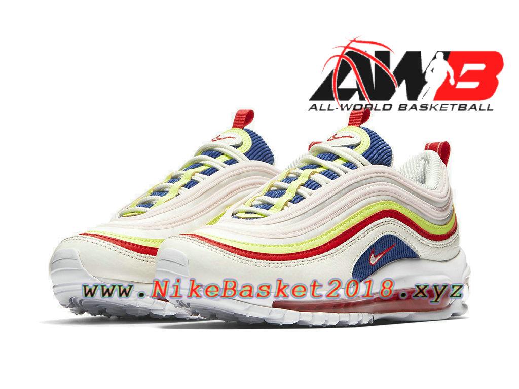 93772f79957 ... Chaussures Officiel Prix Pas Cher Pour Homme Nike Air Max 97 SE  Corduroy White Pink AQ4137 ...