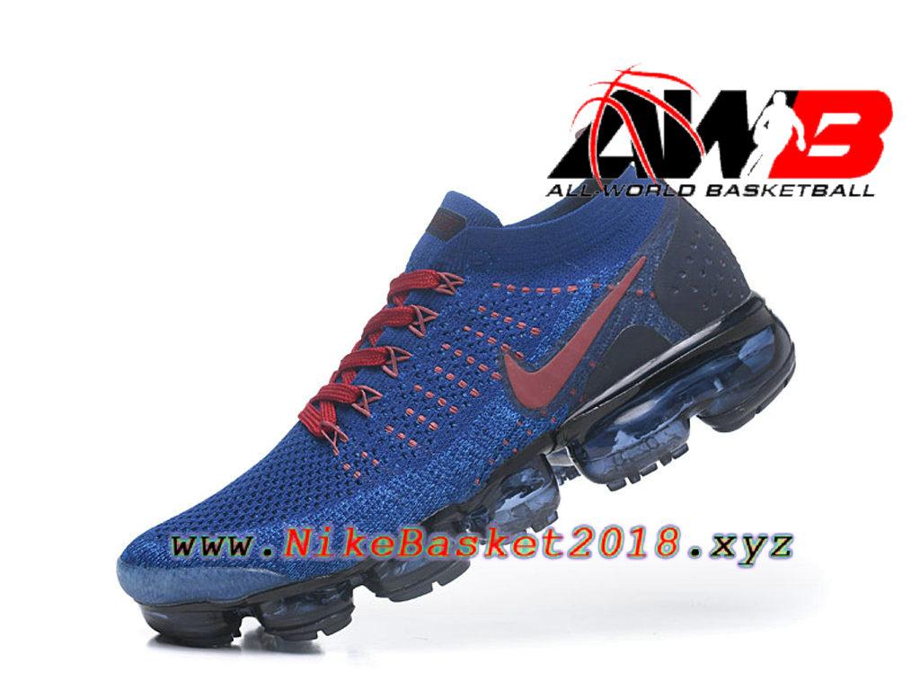 official photos dbf23 4e7c9 ... Chaussures Officiel Prix Pas Cher Pour Homme Nike Air VaporMax Flyknit  2.0 W Bleu Noir 942842 ...