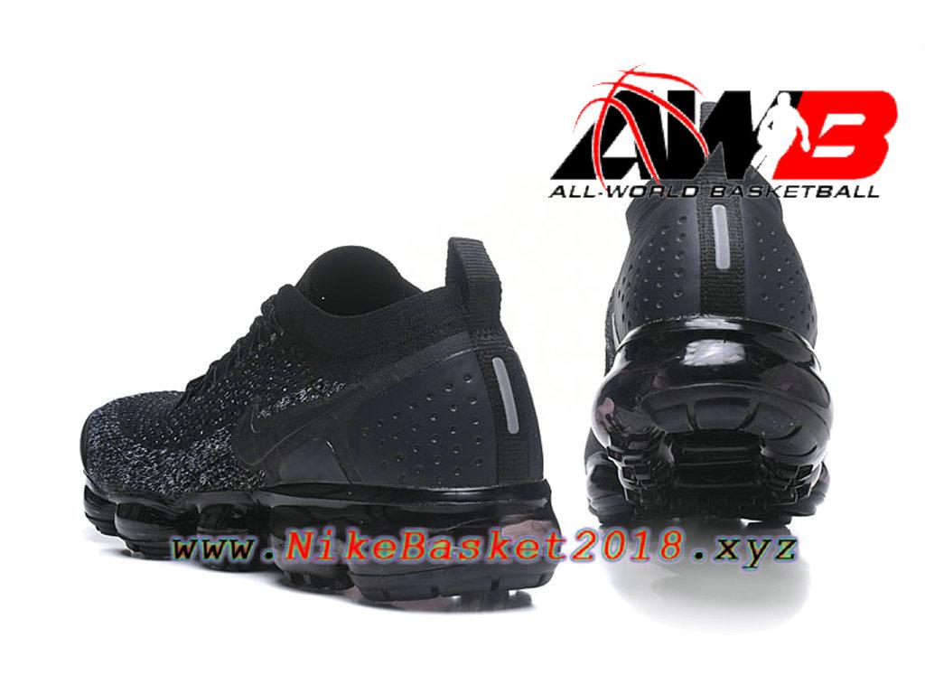 los angeles ce1f3 a07b6 ... Chaussures Officiel Prix Pas Cher Pour HommeNike Air VaporMax Flyknit  2.0 W Noir 942843-011