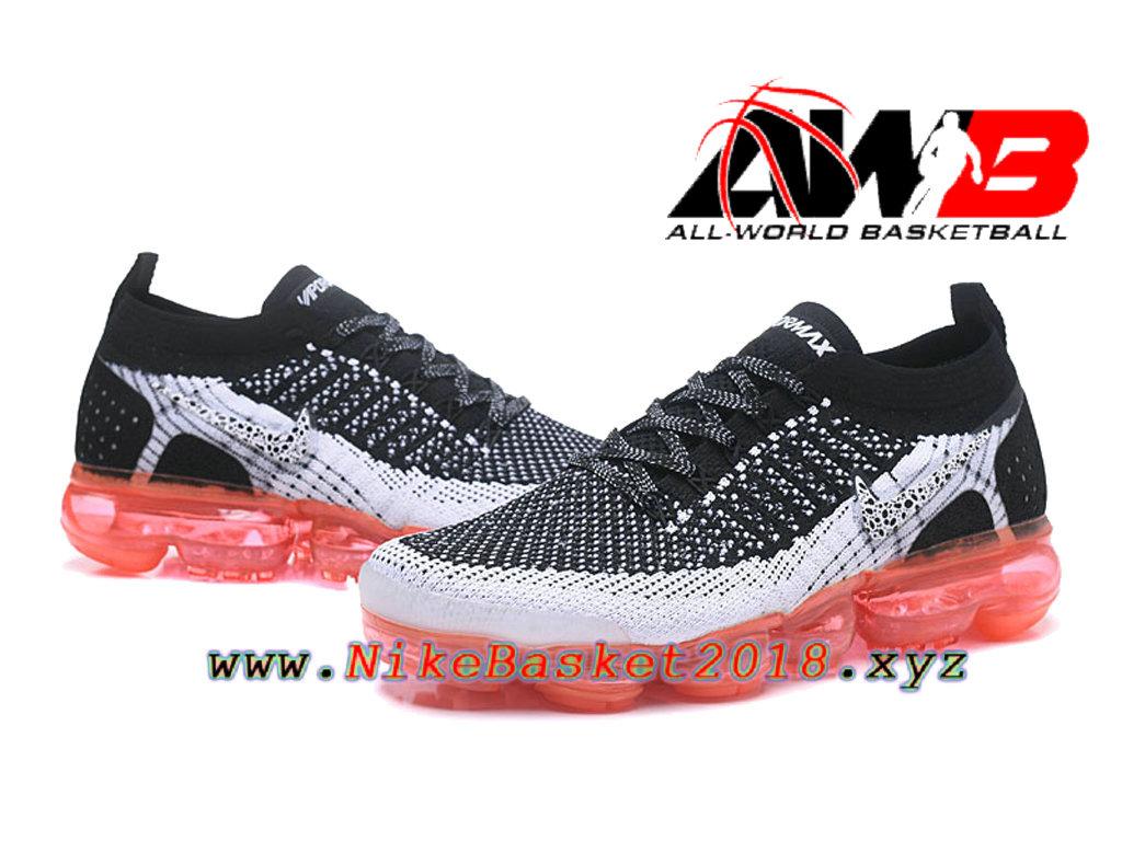 the best attitude c182f 1cc82 ... Chaussures Officiel Prix Pas Cher Pour HommeNike Air VaporMax Flyknit  2.0 W Noir Rose 942842- ...